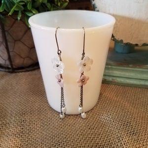 Jewelry - Floral Dangle Earrings